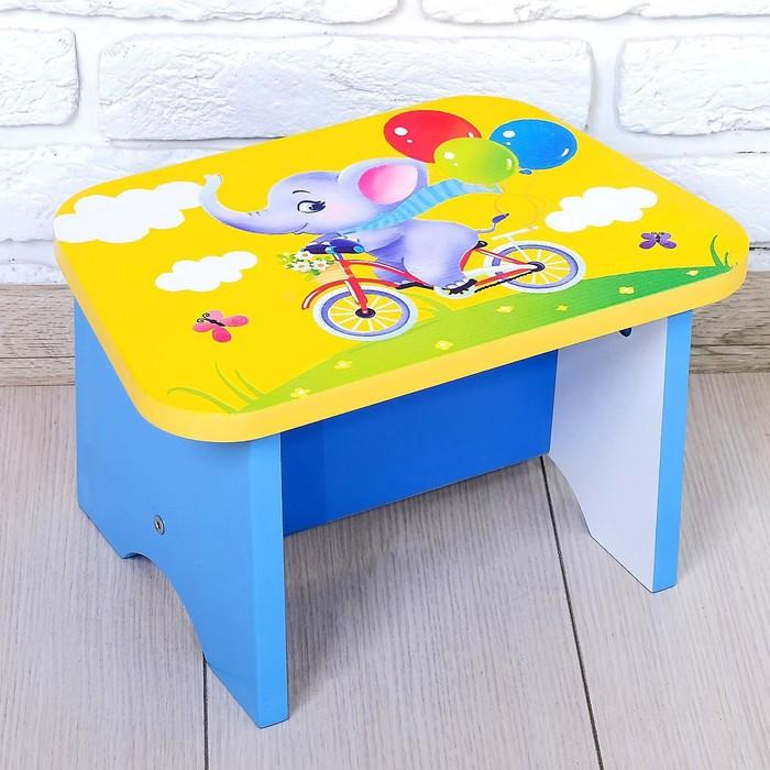 Стул-подставка для умывания детский «Слоник» - фото 105455486