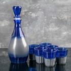Набор питьевой «Дионис», 7 предметов: графин 450 мл, стопоки 50 мл, 6 шт, цвет МИКС - фото 614027