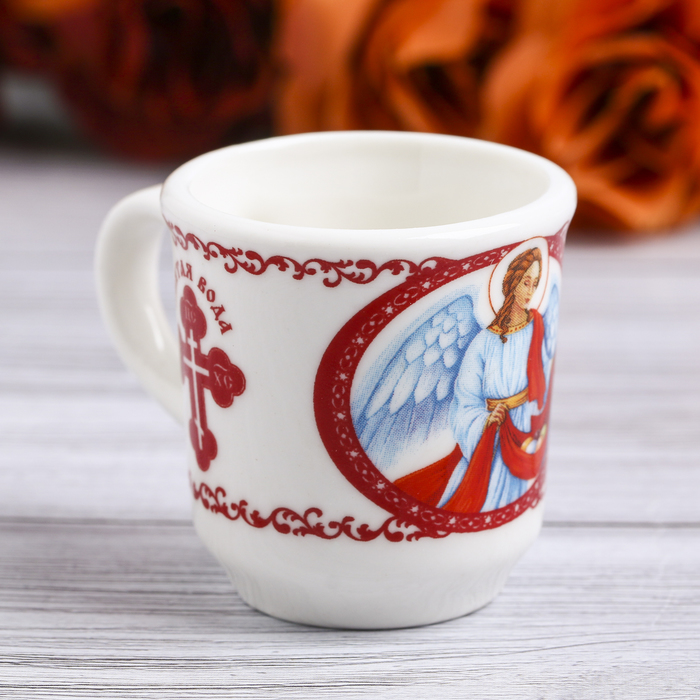Пасхальные Кружечка для святой воды «Ангел», 5,5 х 4 х 3 см