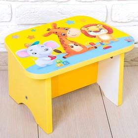 Стул-подставка для умывания детский «Игрушки» Ош