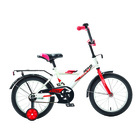 """Велосипед 16"""" Novatrack Astra, 2019, цвет белый"""