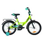 """Велосипед 16"""" Novatrack Vector, 2019, цвет зелёный"""