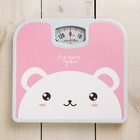 "Scales ""have a Nice day"", mechanical, up to 130 kg"