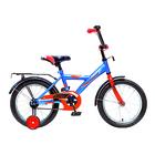 """Велосипед 18"""" Novatrack Asrta, 2019, цвет синий"""