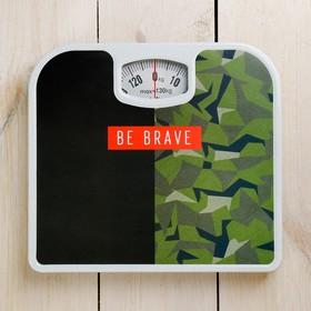 """Весы напольные """"Be brave"""", механические, до 130 кг"""