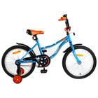 """Велосипед 18"""" Novatrack Neptun, 2019, цвет синий"""
