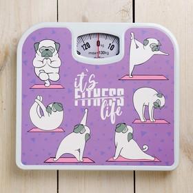 """Весы напольные """"It's fitness life"""", механические, до 130 кг"""