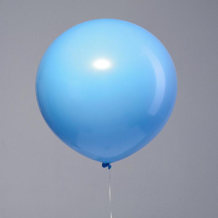 "Шар латексный 32"" ""Макарун"", 1 шт., цвет голубой"