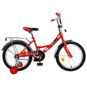 """Велосипед 18"""" Novatrack Urban, 2019, цвет красный"""