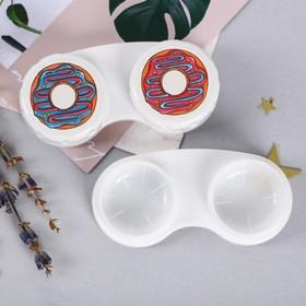 Контейнер для контактных линз 'Пончик', 6,3 х 2,5 см Ош