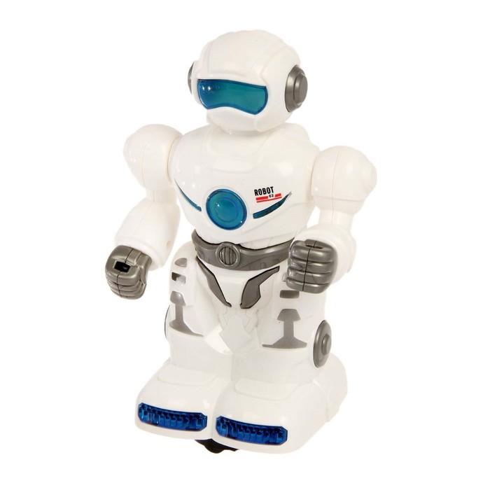 Робот «Странник», работает от батареек, световые и звуковые эффекты, в пакете