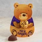 """Шоколадная конфета на открытке """"Моей сладкой"""", 15 г"""