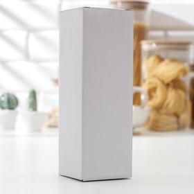 Мельница «Башня», 13×5 см, пластиково-керамический механизм, цвет металлик