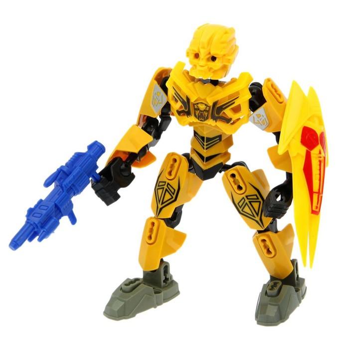 Робот-конструктор «Трансформер», 27 деталей, МИКС, в пакете