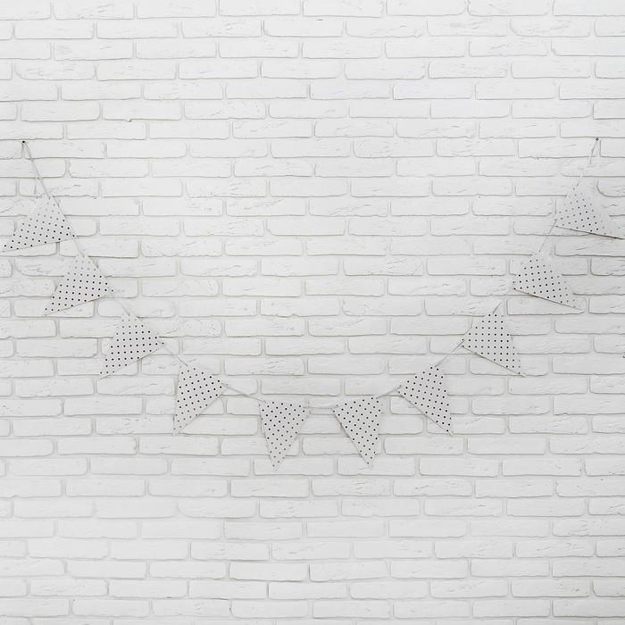 Гирлянда «Горох», 3 м, цвет серебряный - фото 105446818