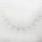 Гирлянда «Звёздочки», 3 м, цвет серебряный - фото 457737