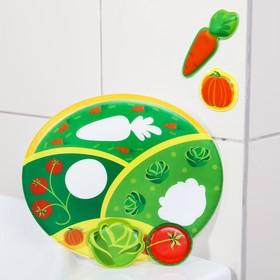 Развивающая игра для купания «Огород»