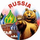Чехол запасного колеса RUSSIA SKYWAY, R15, диаметр 67см,  экокожа (полиэстер)