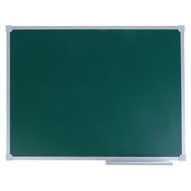 Доска магнитно-меловая, 60 х 90 см, зелёная, в алюминиевом профиле серии LINE