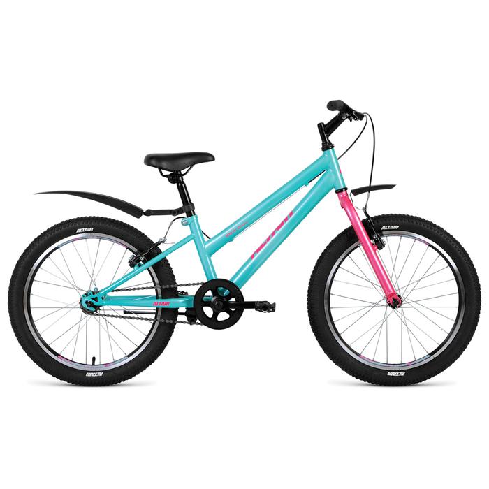 "Велосипед 20"" Altair MTB HT 20 low, 2019, цвет зелёный, размер 10,5"""
