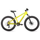 "Велосипед 24"" Forward BIZON MINI 24, 2019, цвет жёлтый, размер 13"""