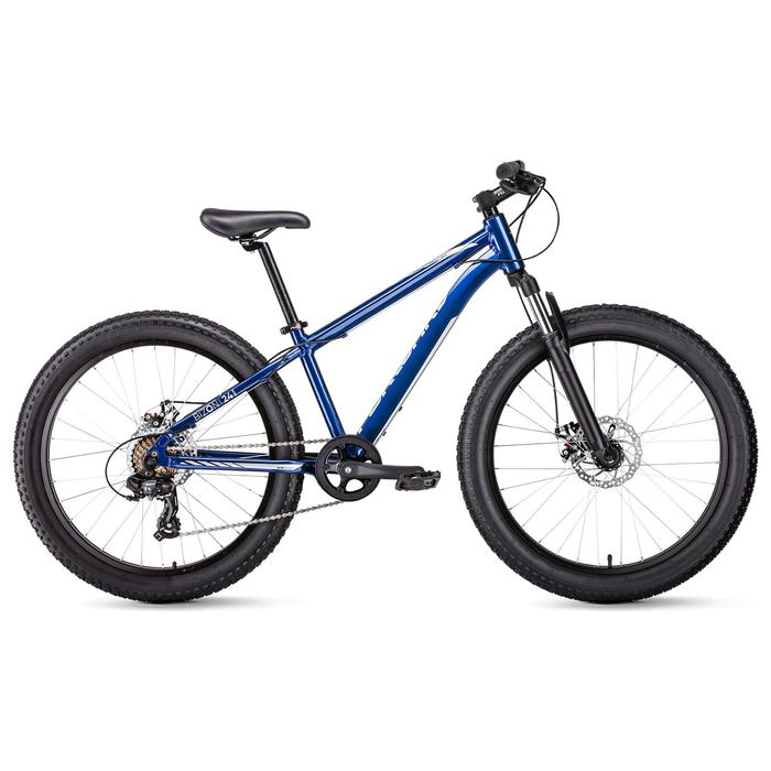 """Велосипед 24"""" Forward Bizon mini 24, 2019, цвет синий, размер 13"""""""