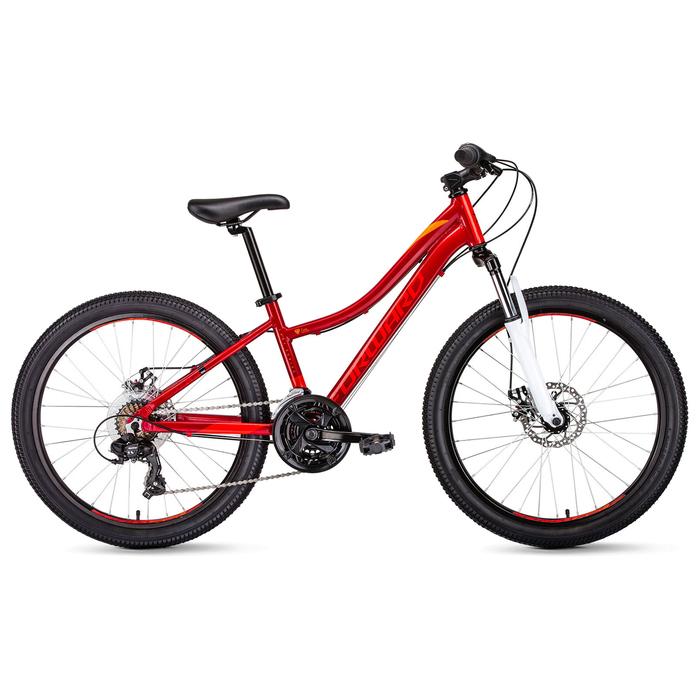 """Велосипед 24"""" Forward Seido 24 2.0, 2019, цвет красный, размер 13"""""""