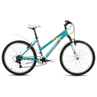 """Велосипед 26"""" Forward Iris 26 1.0, 2018, цвет зелёный матовый, размер 17"""""""