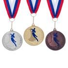 """Медаль тематическая 173 """"Танцы"""" бронза"""