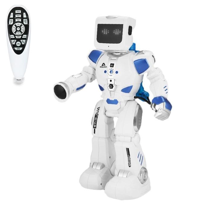 """Робот радиоуправляемый """"Эпсилон-ТИ"""", свет и звук, ходит, работает на воде, в пакете"""