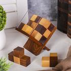 Головоломка «Кубик на подставке»