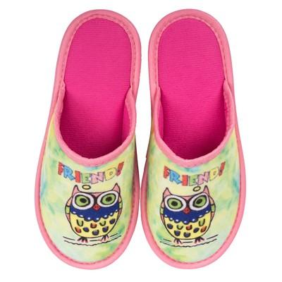 Туфли комнатные детские арт. BTK70801-32-185 F (зеленый) (р. 32)