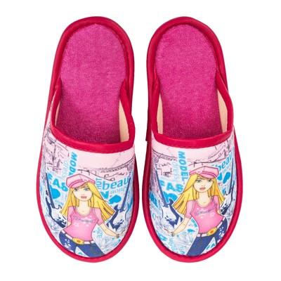 Туфли комнатные детские арт. BTK70801-32-186 F (розовый) (р. 31)