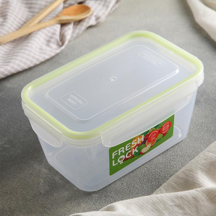 Контейнер пищевой с герметичной крышкой 1,4 л