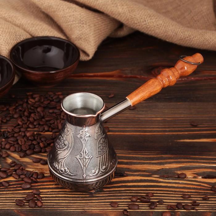 Турка для кофе медная «Орел», 0,3 л - фото 224875
