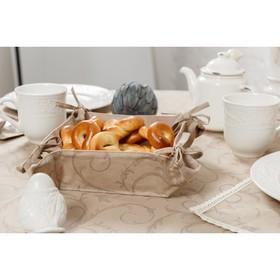 Хлебница Curls, размер 18 × 18 × 7 см