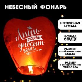 Фонарик желаний «Любовь», сердце, цвета МИКС в Донецке
