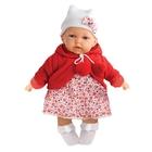 Кукла Азалия в красном, озвученная, 27 см 1220R