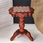 """Интерьерный стол дерево """"Шахматы"""" 30х30х40 см"""