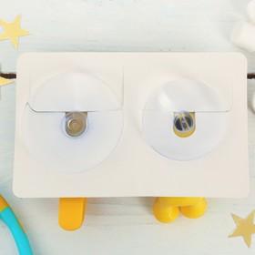 """Набор """"Котята"""", держатель для зубной щётки, крючок, мыльница, детский - фото 4650510"""