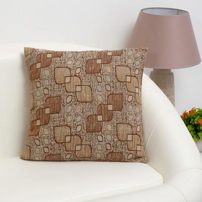 """Pillow case decorative Ethel """"Lyrics"""" 40×40 cm, density 280 g/m2, 30% cotton, 70% p/e"""