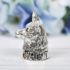 Напёрсток сувенирный «Сургут», серебро - фото 691007