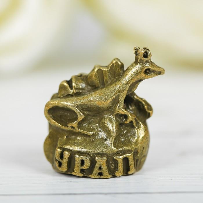 Напёрсток сувенирный «Урал», латунь - фото 691010