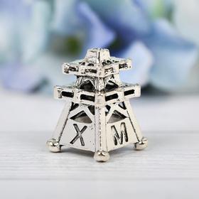 Напёрсток сувенирный «ХМАО», серебро Ош