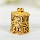 Напёрсток сувенирный «Екатеринбург», золото - фото 691039
