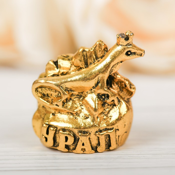 Напёрсток сувенирный «Урал», золото - фото 691045