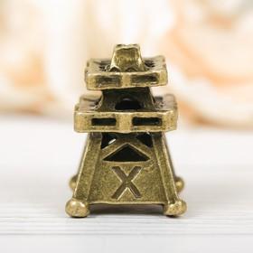Напёрсток сувенирный «ХМАО», латунь Ош