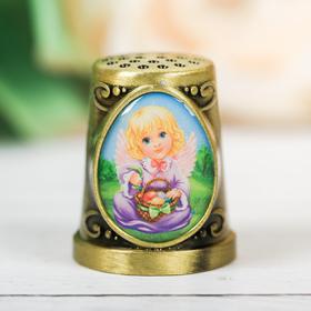 Наперсток пасхальный «Ангел» 2,5 х 2,2 см