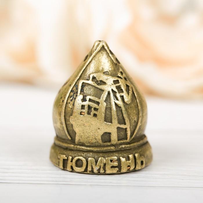 Напёрсток сувенирный «Тюмень», латунь - фото 691063