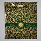 """Пакет """"Перфекто орнамент"""", полиэтиленовый с вырубной ручкой, 42 х 48 см, 90 мкм"""